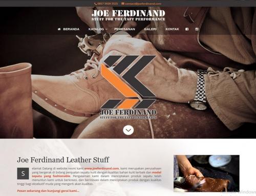 Joe Ferdinand Leather Stuff