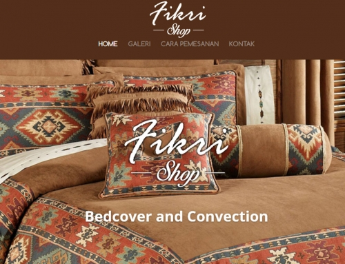 Bed Cover Fikri Shop